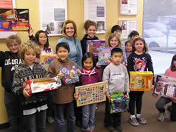 Piper Elementary Toy Donation 2009